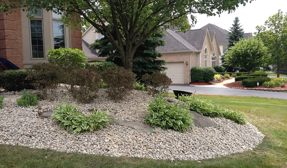 Your dream garden is never complete without landscaping for Red stone landscape rock