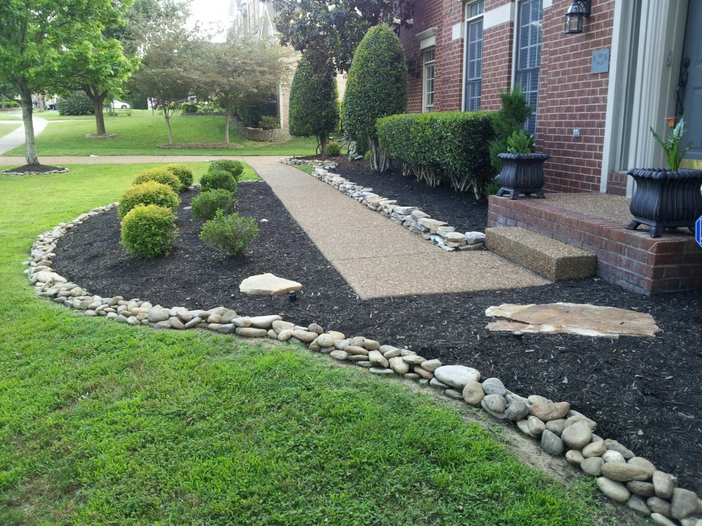 Stock photos backyard landscaping stone walkway images frompo - Landscaping With Stones