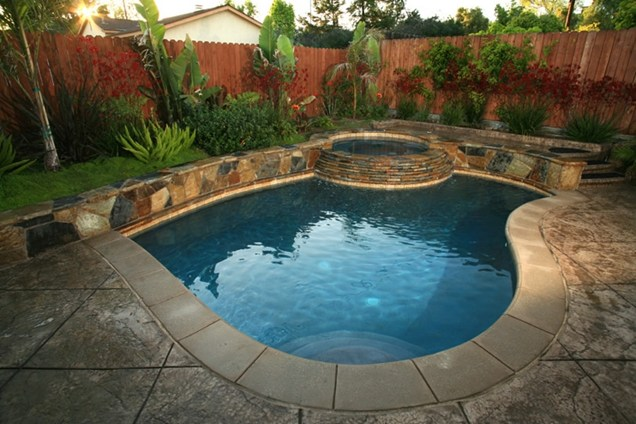 Small Bacyard Swimming Pool Ideas - Large And Beautiful Photos