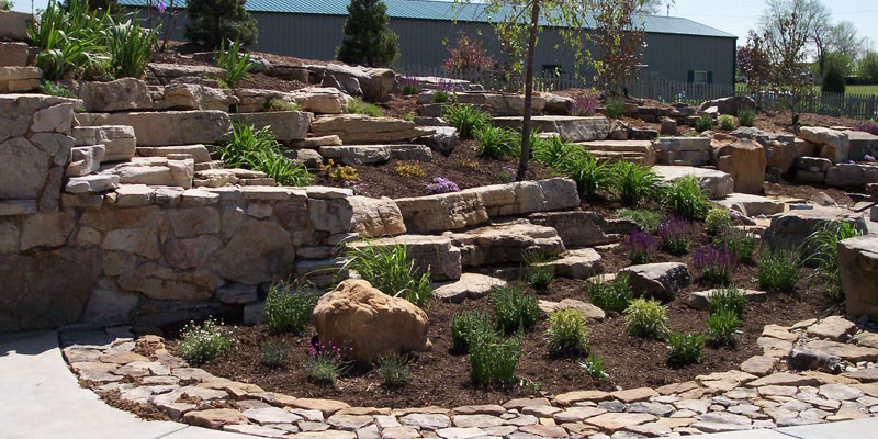 Your dream garden is never complete without landscaping for Large river stones for landscaping