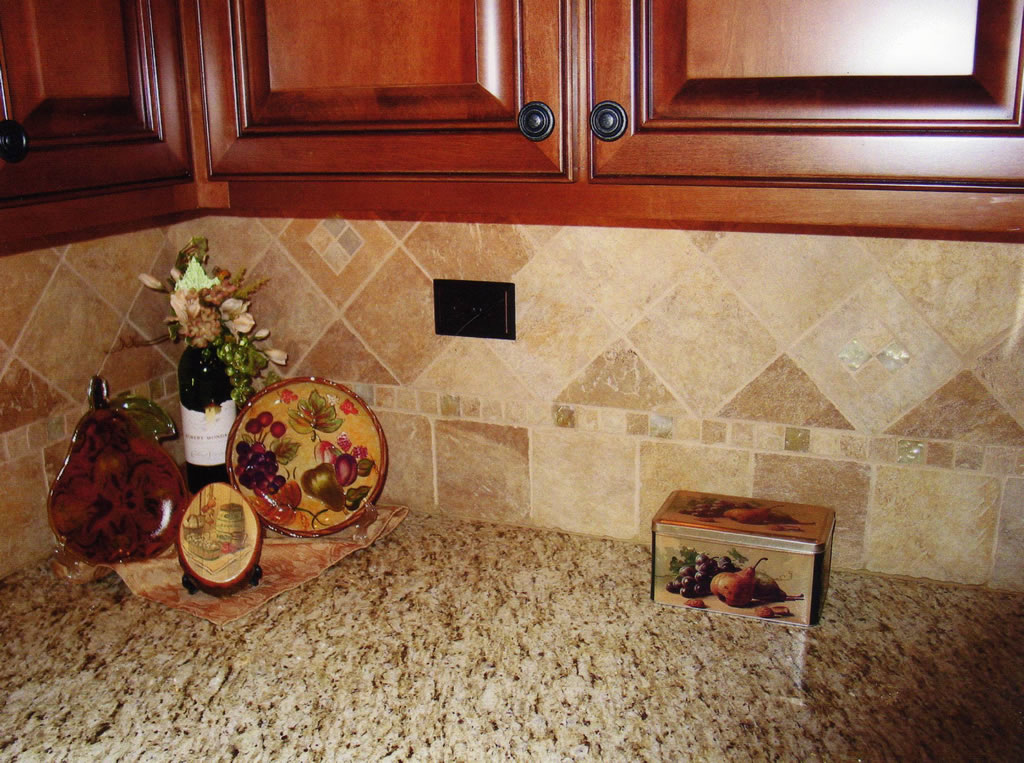 Ceramic tile kitchen backsplash ideas