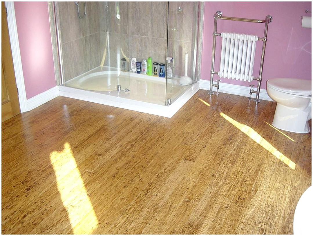 Bamboo flooring bathroom Photo - 1