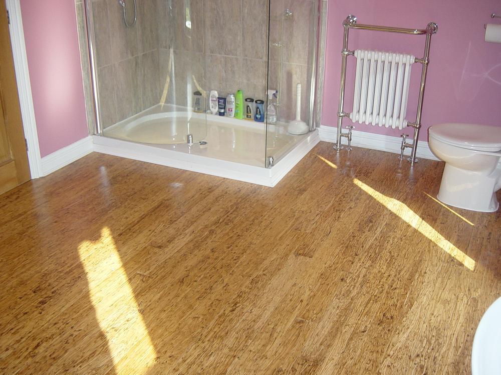 Bamboo Flooring In Bathroom