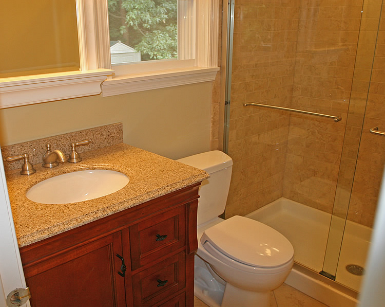 Basic bathroom remodel