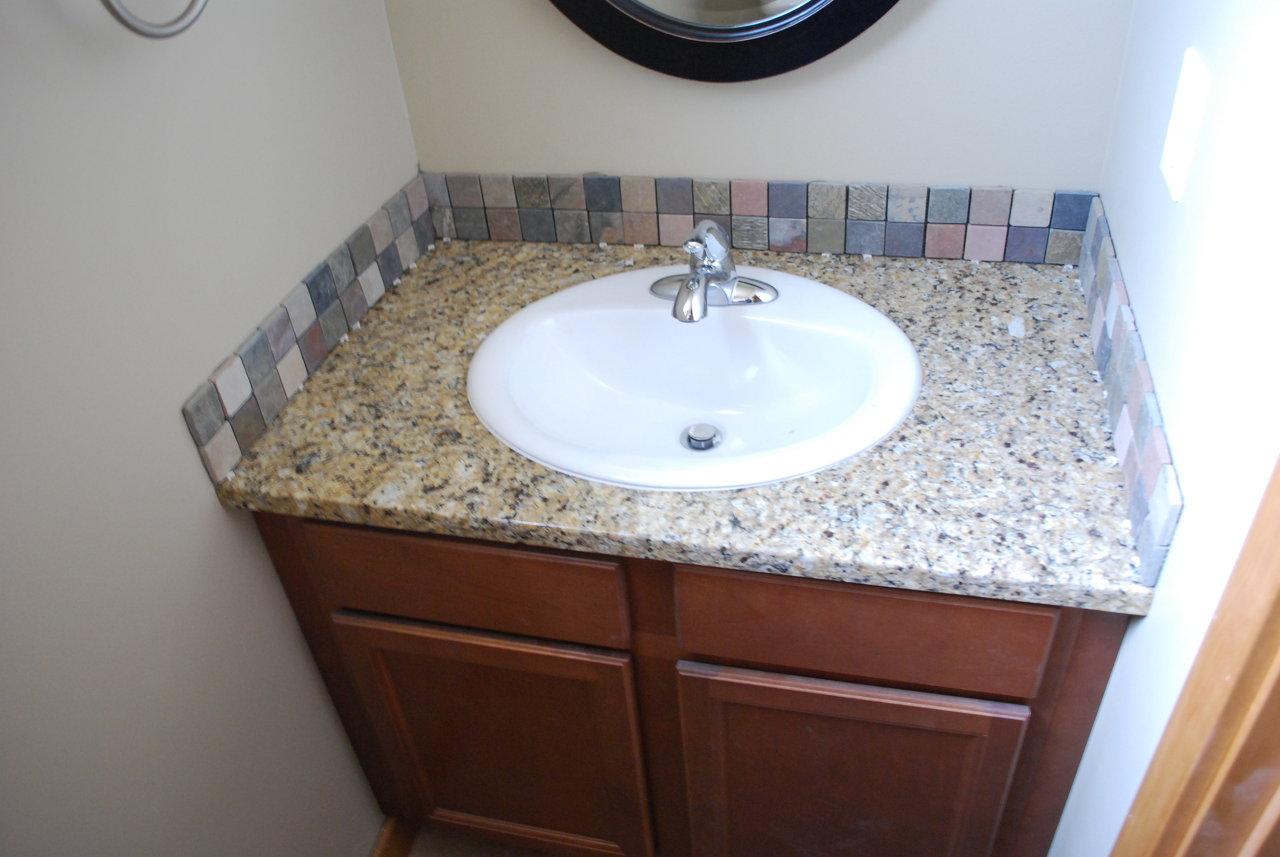 bathroom backsplash ideas - Backsplash In Bathroom