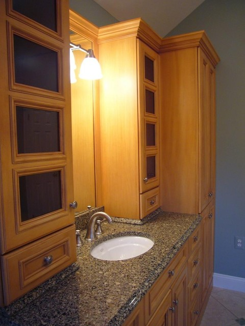 Small bathroom storage ideas large and beautiful photos for Bathroom cabinet ideas photos