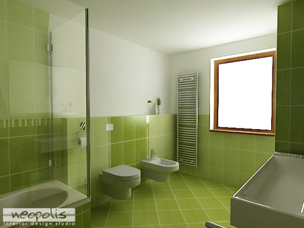 Small bathroom color schemes large and beautiful photos for Small bathroom color schemes