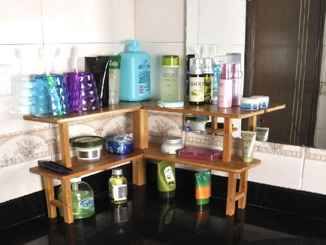 Merveilleux Bathroom Countertop Shelves