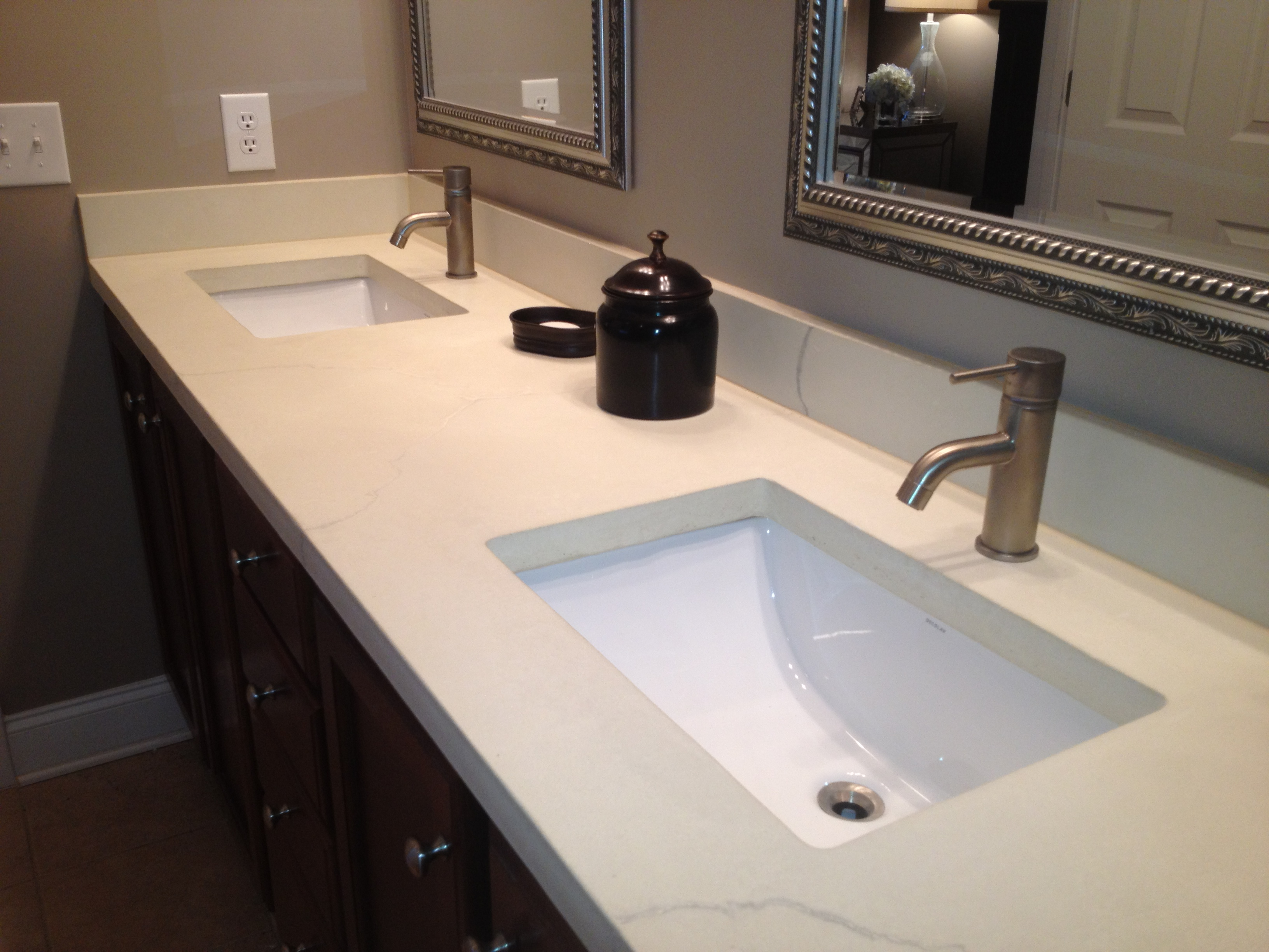Best Bathroom Countertops : Bathroom counter top large and beautiful photos photo