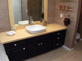 Laminate Wood Flooring In Bathroom Bathroom Countertops Ideas