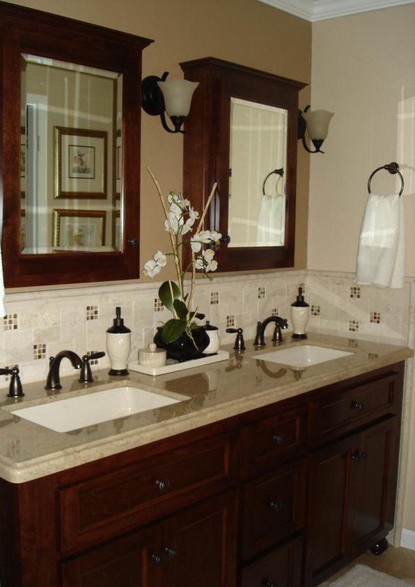 Decorating bathroom ideas - large and beautiful photos. Photo to ...