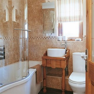 Small bathroom design ideas on a budget - large and beautiful ...