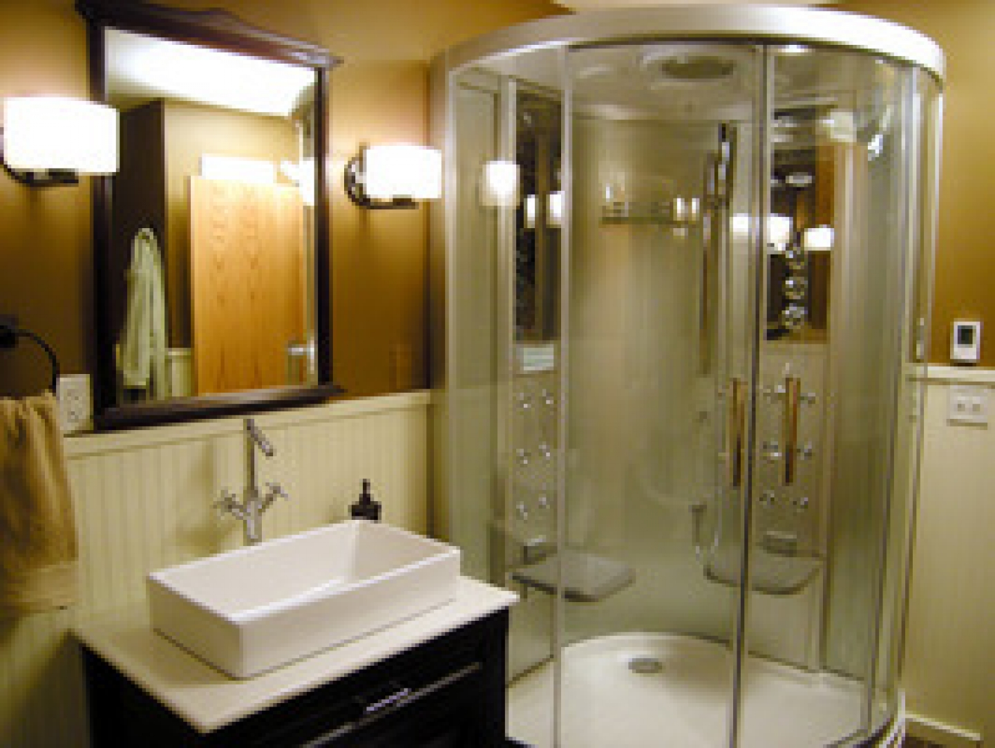bathroom makeover ideas - Cheap Bathroom Makeover