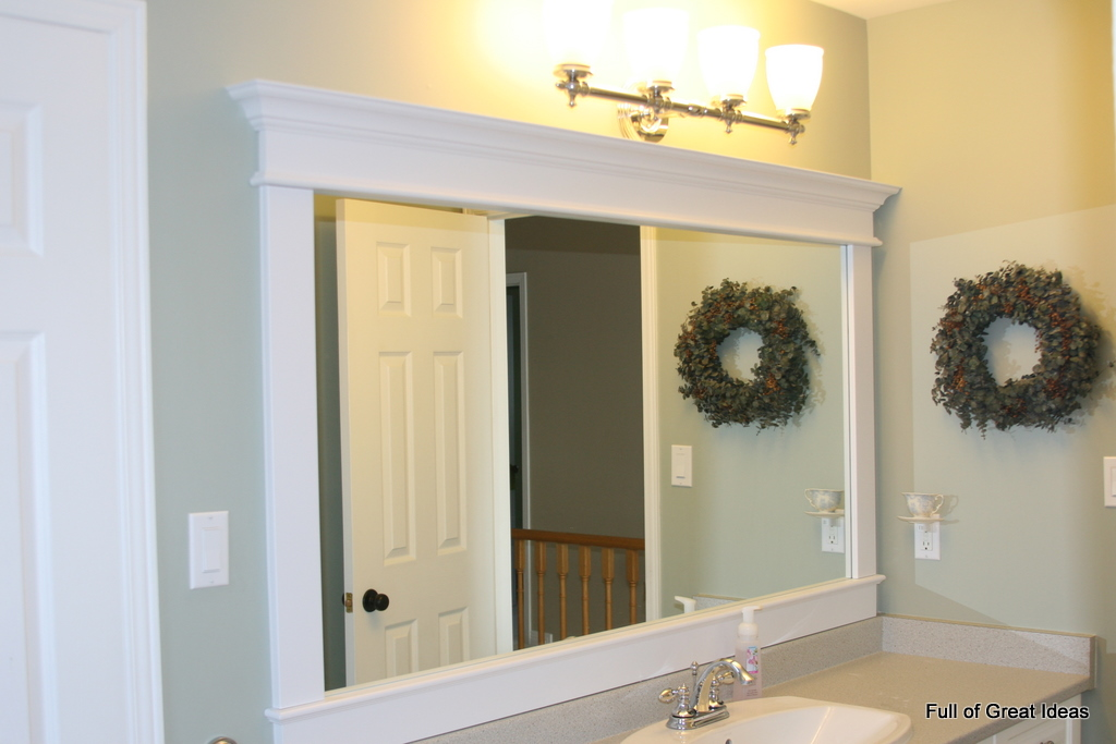 Bathroom Mirror Ideas Frame