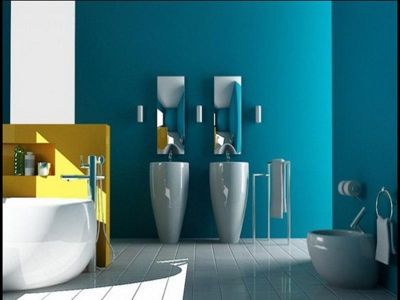 Bathroom paint colors ideas photo 6 design your home for What paint is best for bathrooms