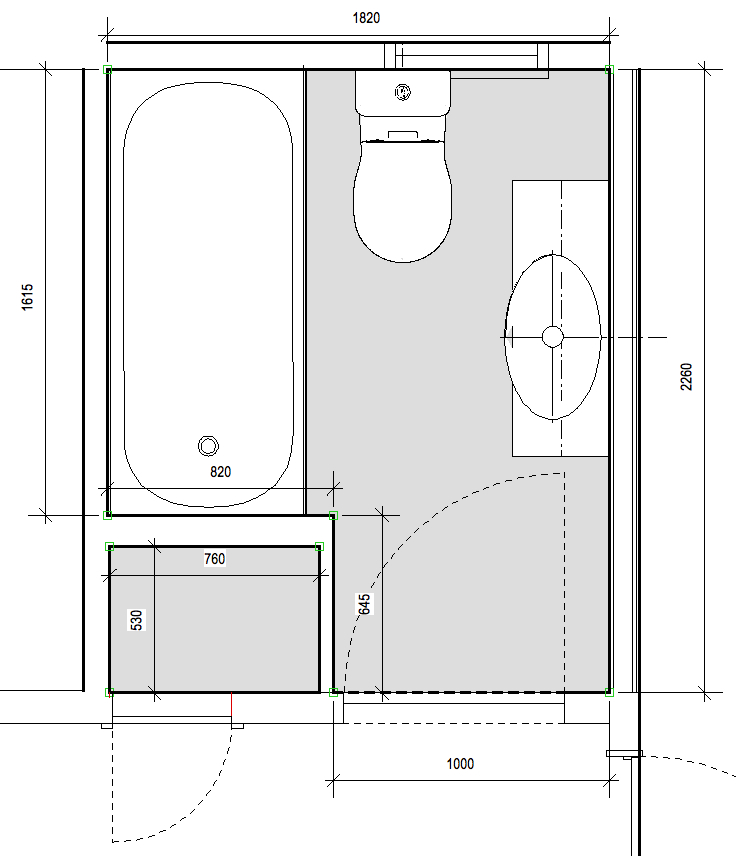 Bathroom plans Photo - 1