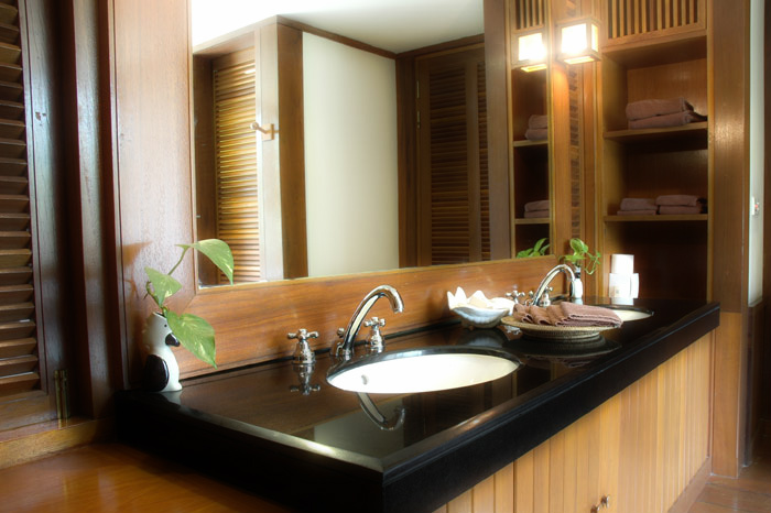 Small bathroom design ideas on a budget large and for Remodeling your bathroom on a budget