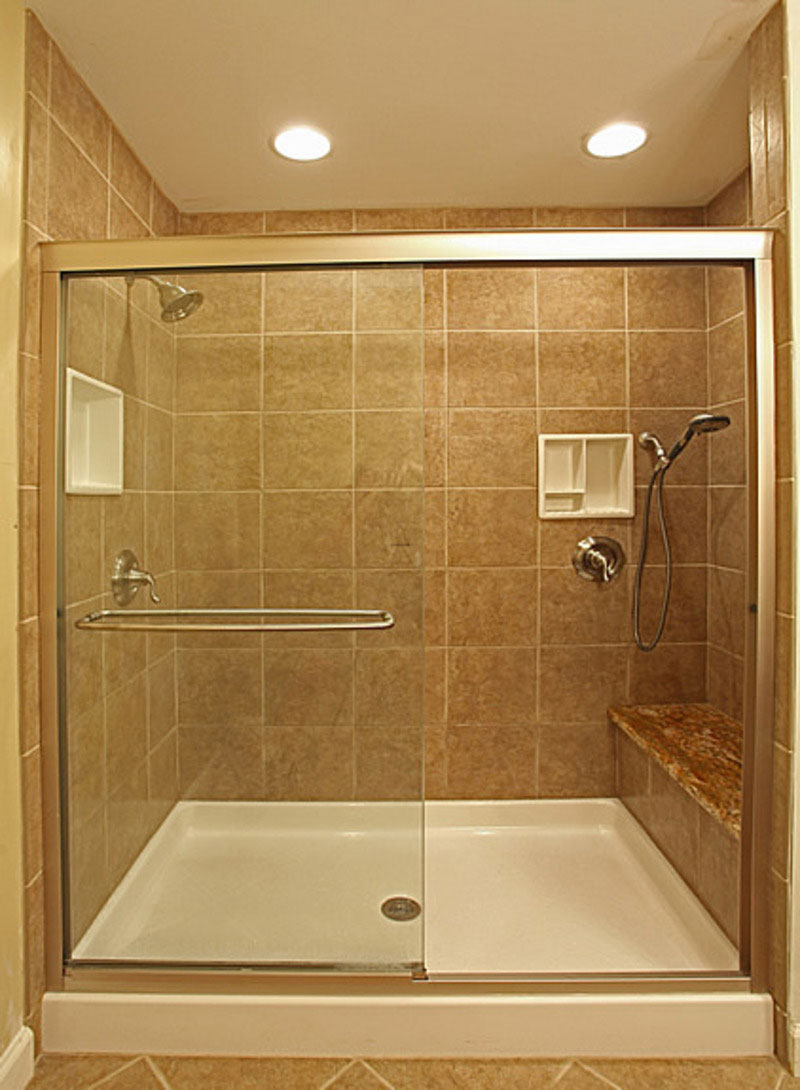 Bathroom shower tile installation