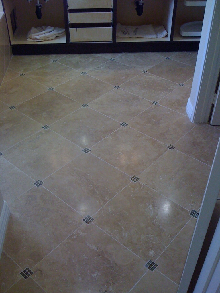 Small bathroom floor tile patterns