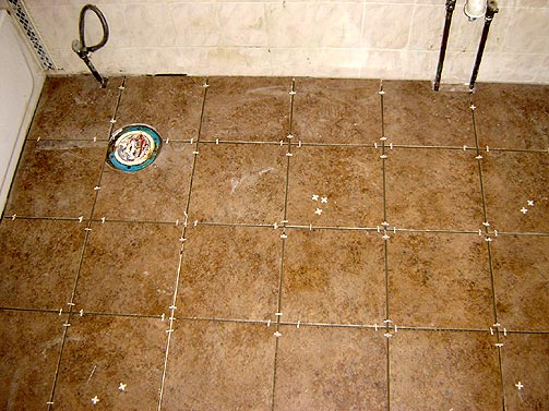Bathroom tile installation Photo - 1