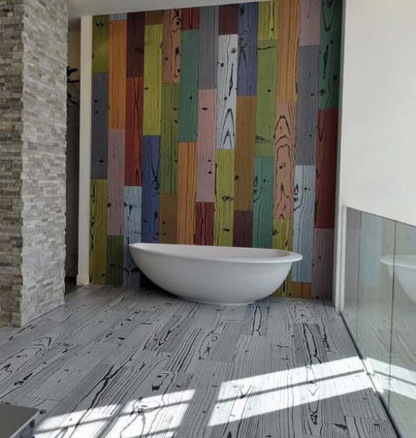 Bathroom tile floor designs