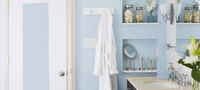 Bathroom towel storage Photo - 1