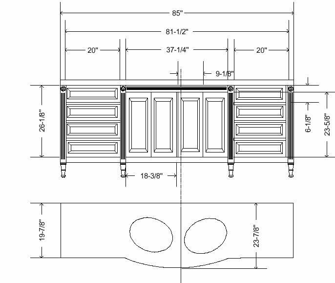 Bathroom vanity plans Photo - 1