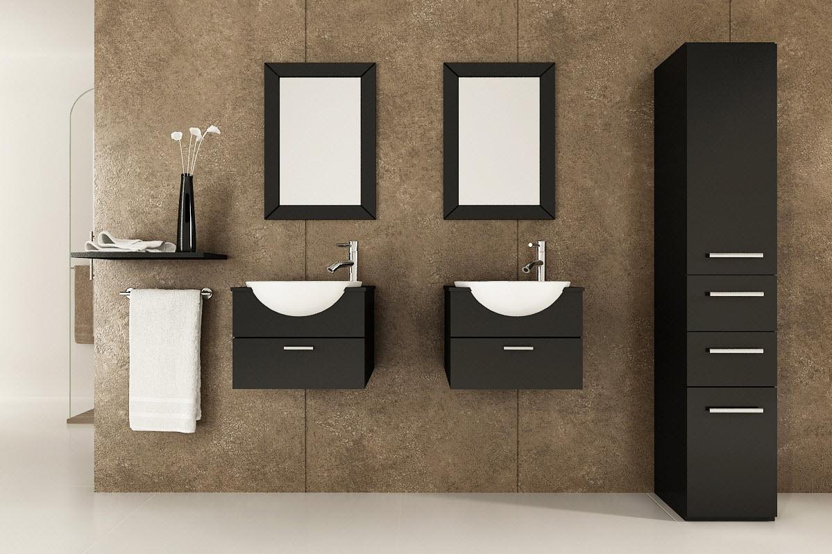 Bathroom vanity storage