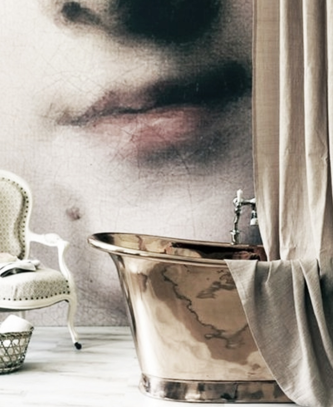 bathroom wall coverings photo