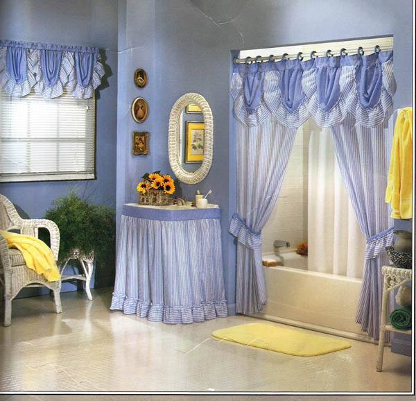 Bathroom window curtains ideas Photo - 1