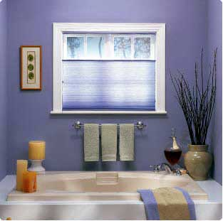 Bathroom window treatments Photo - 1