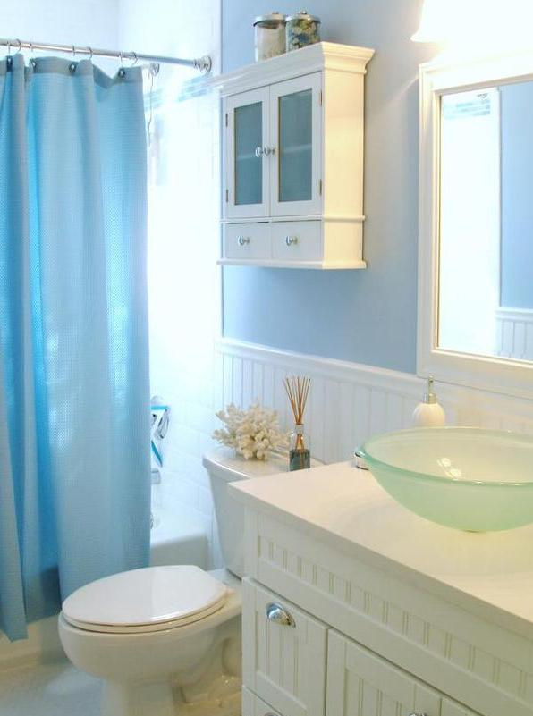 Beach bathroom decor Photo - 1