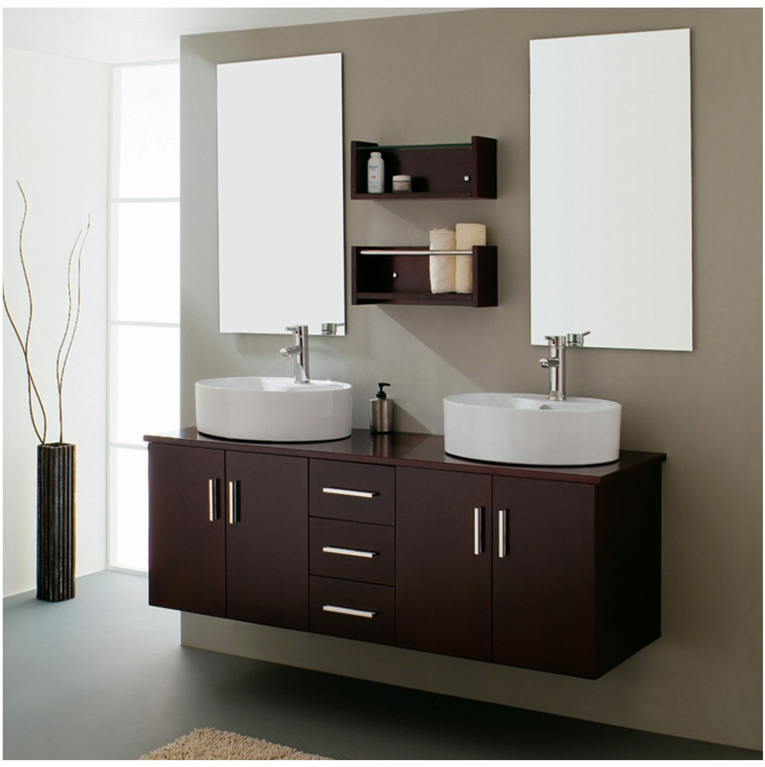 Beautiful bathroom vanities Photo - 1
