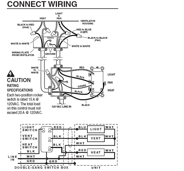 wiring bathroom fan light combo bathroom ceiling heater leviton triple rocker switch wiring diagram leviton triple rocker switch wiring diagram