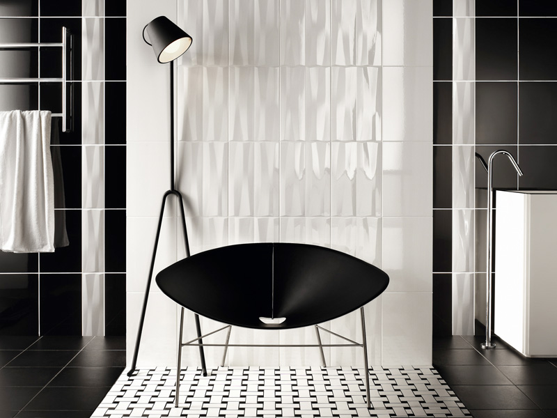Black And White Bathroom Designs Black And White Bathroom Tiles