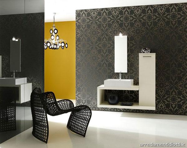 Black bathroom Photo - 1