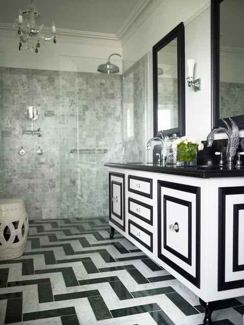 Black And White Bathroom Floor Tile Large And Beautiful Photos Photo To Select Black And