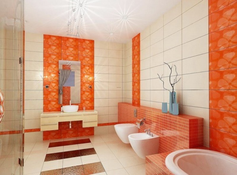 Colorful bathrooms large and beautiful photos Photo to select