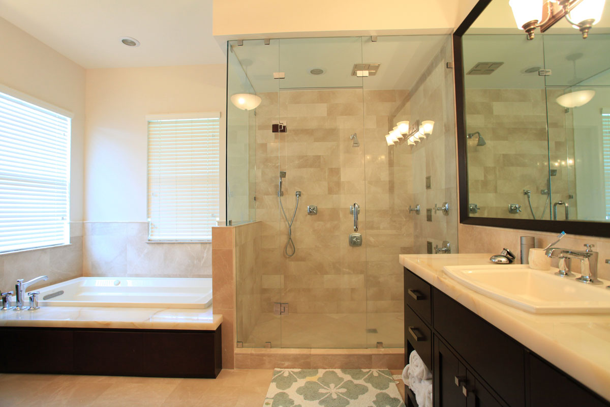 Cost of remodeling bathroom large and beautiful photos for Bath remodel for small bathrooms