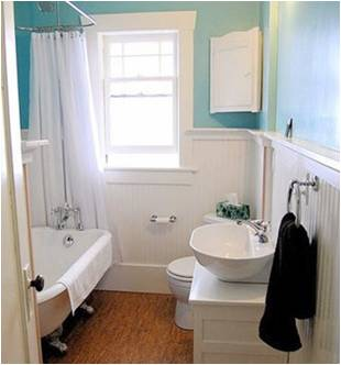 Cost of small bathroom remodel large and beautiful for Average cost for small bathroom remodel