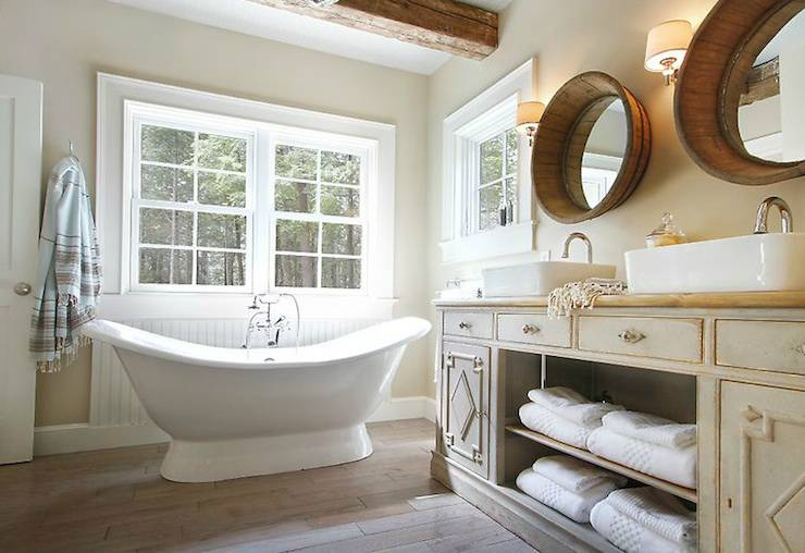 cottage style bathroom - large and beautiful photos. photo to