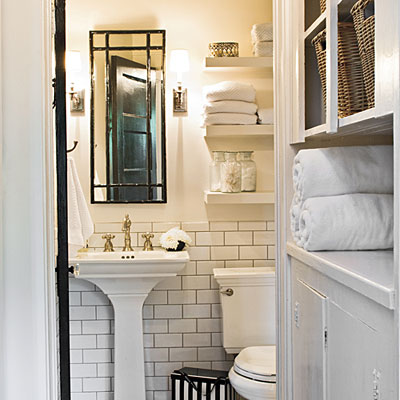 Cottage style bathroom - large and beautiful photos. Photo to ...