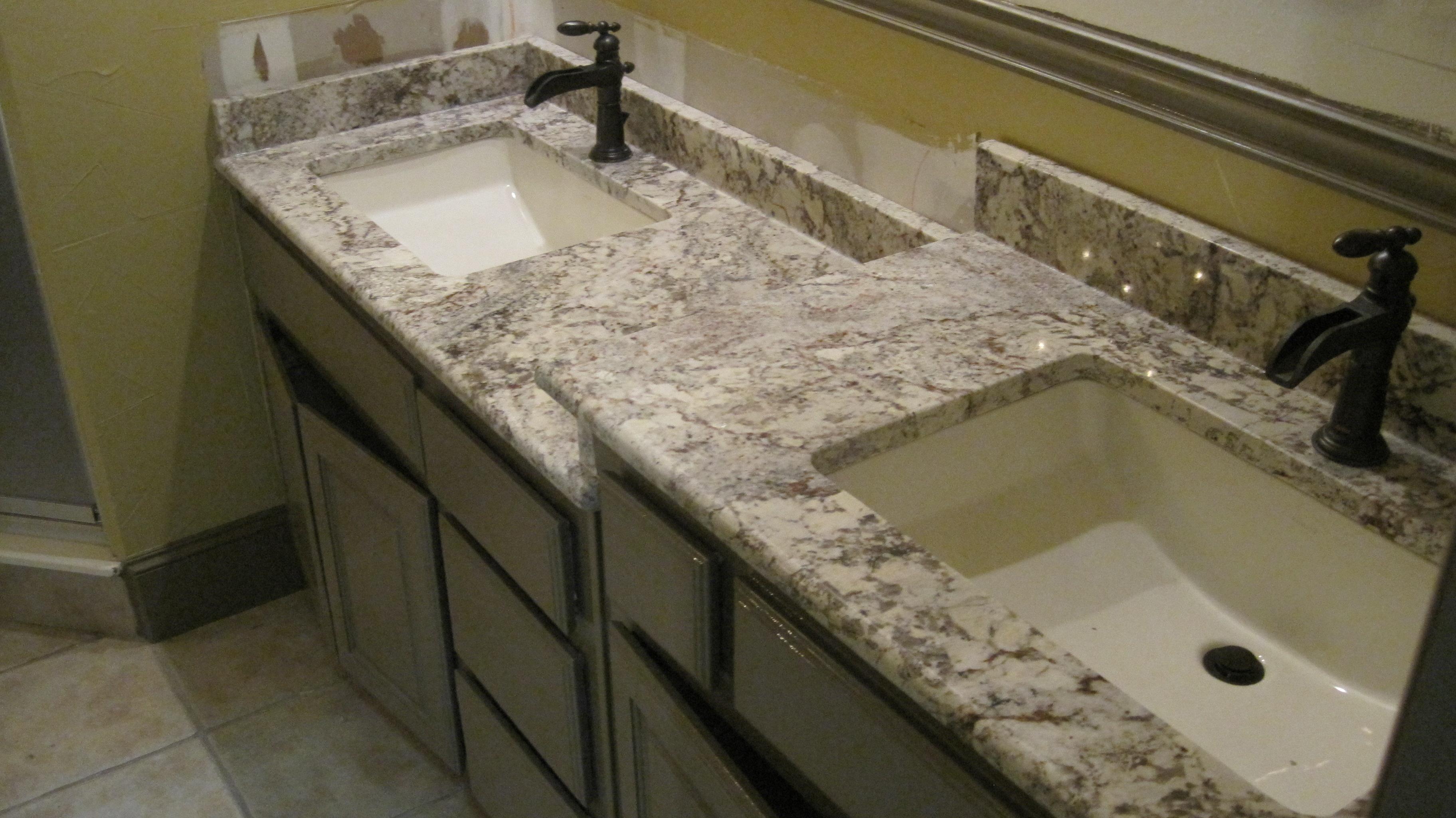 Bathroom Granite Countertops granite countertops in bathrooms - large and beautiful photos