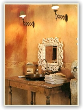 Country French Bathrooms