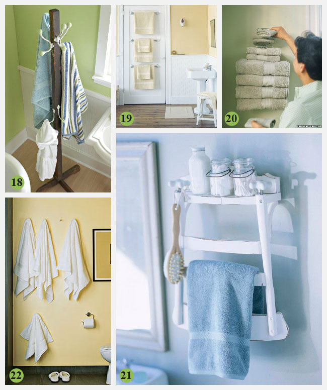 Creative bathroom storage Photo - 1