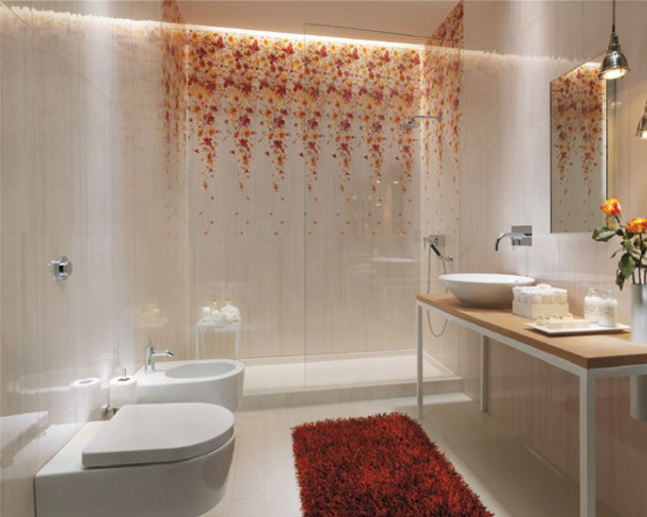 Bathroom ceramic tile design ideas