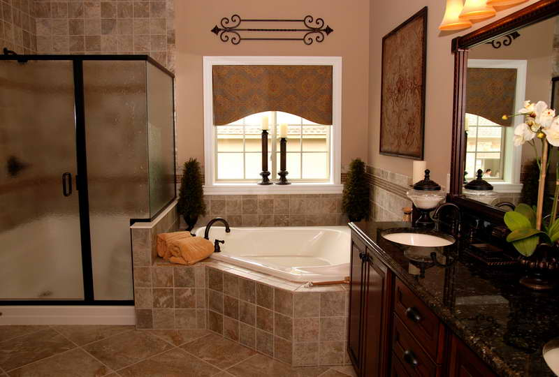 Decorated bathrooms large and beautiful photos Photo to select