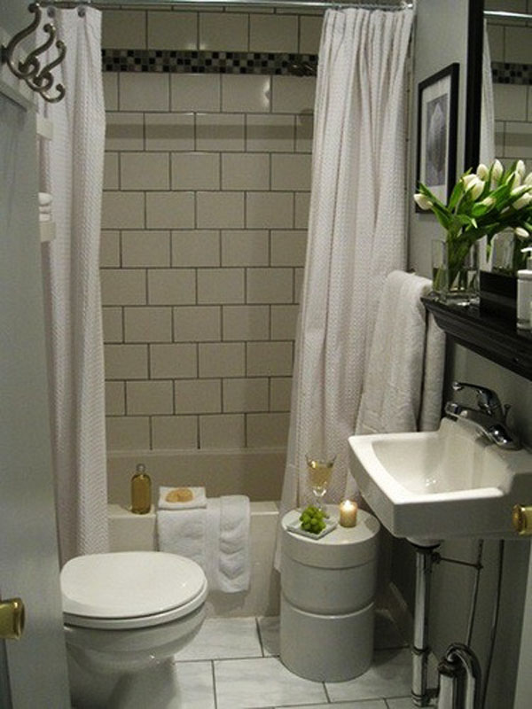 Design ideas for small bathrooms Photo - 1