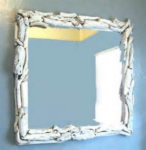 We Offer To Your Attention Diy Bathroom Mirror Frame Ideas Photo U2013 8. If  You Decide To Decorate The House Or Yard And Do Not Know What To Do With It!