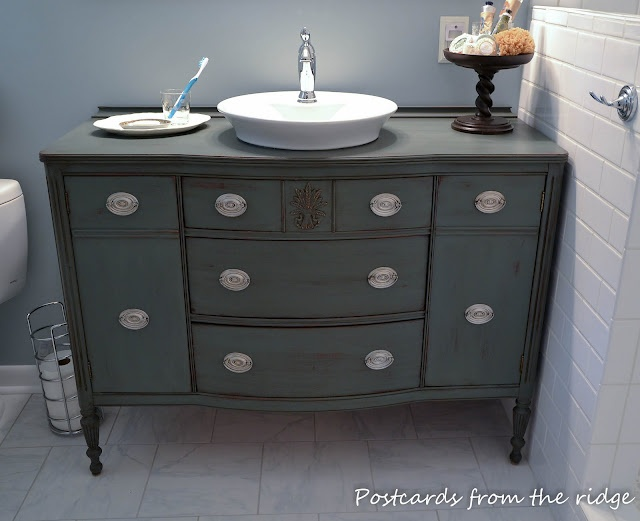 We Offer To Your Attention Dresser As Bathroom Vanity Photo U2013 12. If You  Decide To Decorate The House Or Yard And Do Not Know What To Do With It!